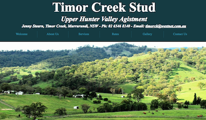Timor Creek Stud Agistment